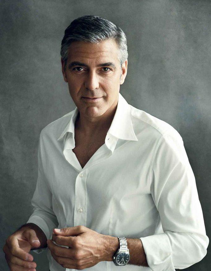 George Clooney zou passen bij de koning van Araluen. Hij heeft ook die sjieke maar stoere uitstraling.