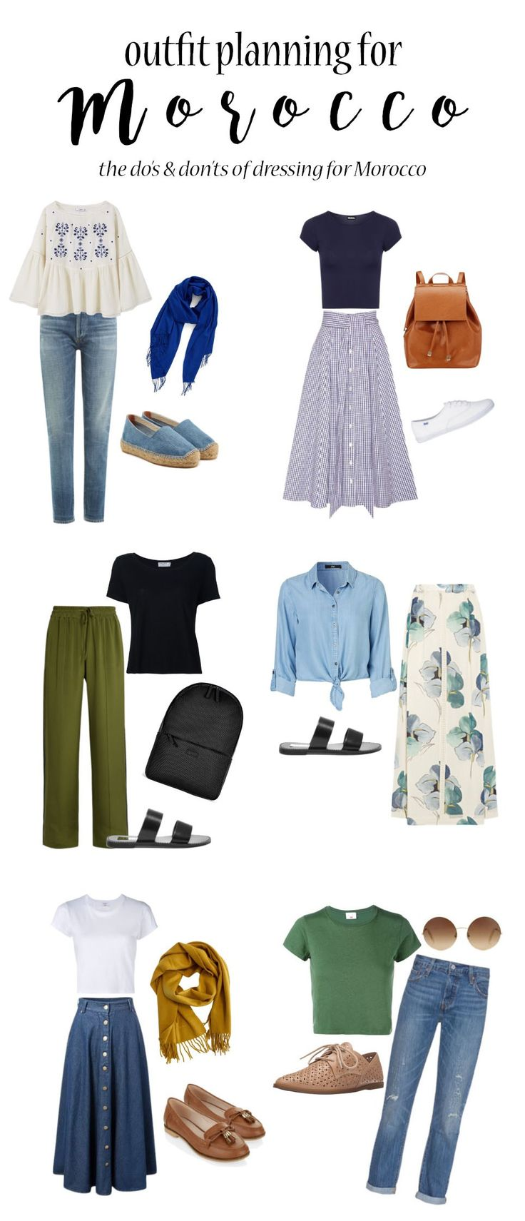 Modest outfits for Morocco