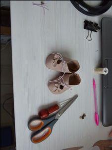 Мастерим туфельки для антикварной куклы. Ярмарка Мастеров - ручная работа, handmade.