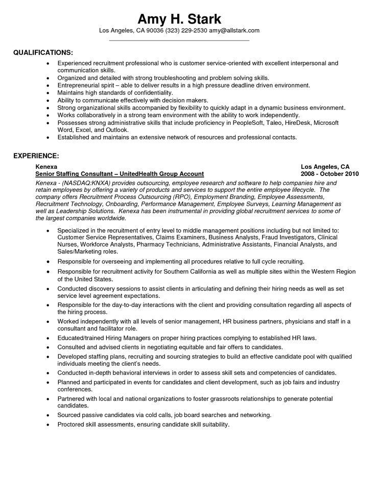 103 best Resume images on Pinterest Resume templates, Cv - restaurant resume skills