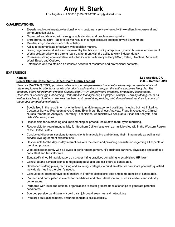 31 best images about sample resume center on pinterest