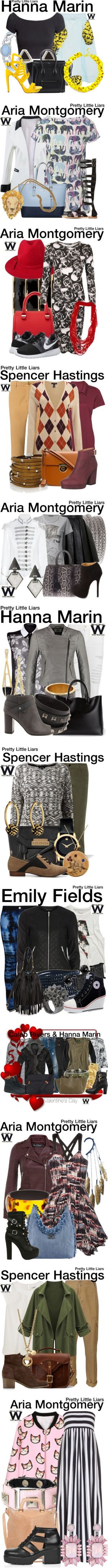 """""""Pretty Little Liars - More Inspirations From"""" by wearwhatyouwatch ❤ liked on Polyvore"""