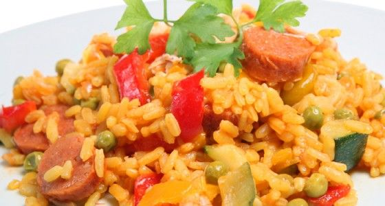 Breville® Halo+ Chicken and Chorizo Paella