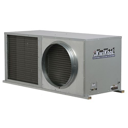 Kwikool Commercial 60,000 BTU 5-ton Ceiling Mounted Water Cooled AC Model 230V 6.5 KW