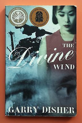 SIGNED!! The Divine Wind Garry Disher FREE AUS POST! good used cond PB 2000
