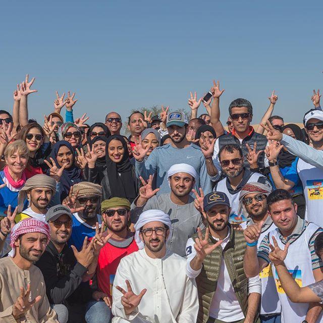 بروح الفريق الواحد يمكننا أن نحدث التغيير وننجز الكثير قضيت يوم غير تقليدي مع فريقي في المجلس التنفيذي لتعزيز روح الفري Dubai City Princess Haya Dubai Travel