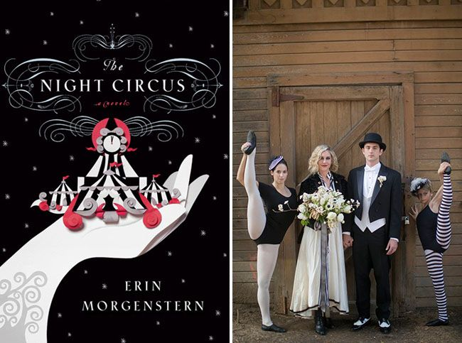 Truly spectacula!  Wedding Inspiration from the Night Circus