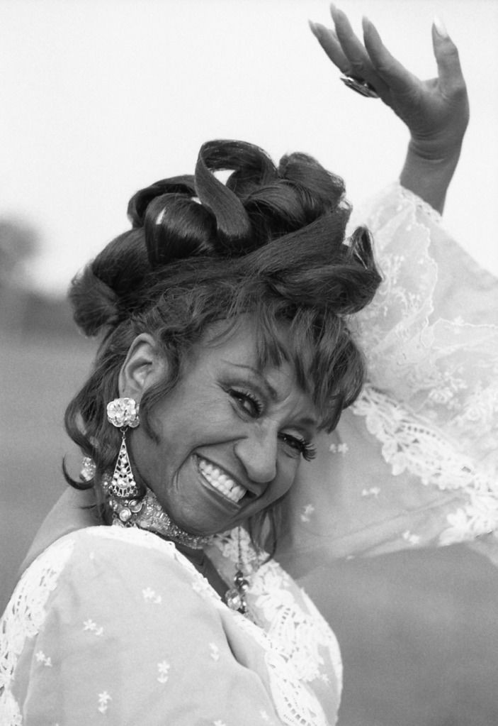 Úrsula Hilaria Celia de la Caridad Cruz Alfonso de la Santísima Trinidad also known by her stage name Celia Cruz (October 21, 1925 – July 16, 2003) was a Cuban salsa singer/performer.