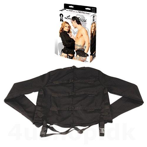 Lux Fetish - Straight Jacket - Spændetrøje - str. S/M