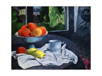 Still Life with Fruit, Brittany, 19th Century Giclee Print by Paul Gauguin at Art.com