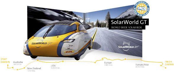 Ya podemos recorrer el mundo con un coche solar :-)