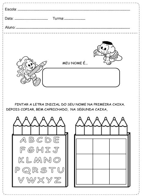 Atividades de português 1° ano para imprimir, com exercícios fundamentais para a capacitação dos jovens alunos, contendo português simples e...