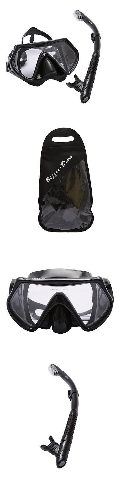 Masks 71161: Diving Mask And Dry Snorkel Set By Bezzee-Dive - Watertight Mask With Anti-Fog - -> BUY IT NOW ONLY: $48.66 on eBay!