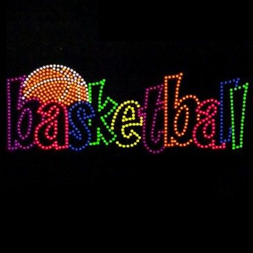 Hey, I found this really awesome Etsy listing at https://www.etsy.com/listing/211254497/bling-basketball-in-neon-colors-shirt