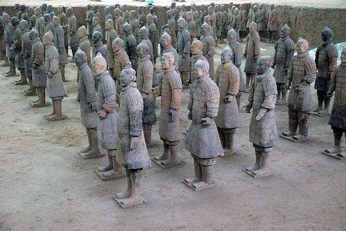 Xi'an (China): l'esercito di terracotta