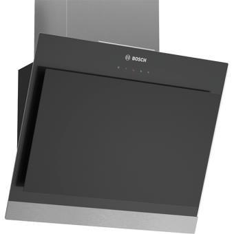 Hotte décorative inclinée noir Bosch DWK06G660