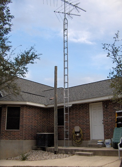 Home Tv Antenna Tower I Remember That Ours Rose Right