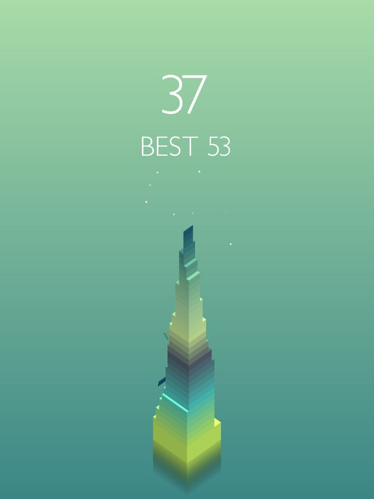 I scored 37 points in #Stack https://itunes.apple.com/app/stack/id1080487957
