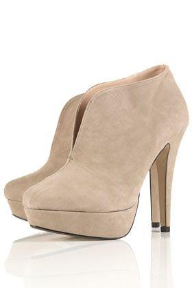 Topshop Simba V Throat Shoe Boots, £70.