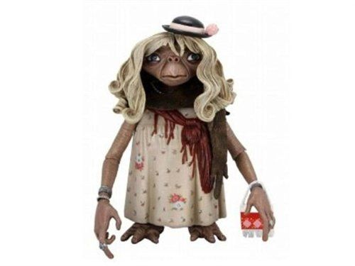 E.T. Series 1 Dress-Up E.T. with purse 4.5 Inch Action Fi...