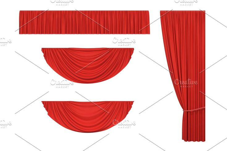Red Stage Curtains In 2020