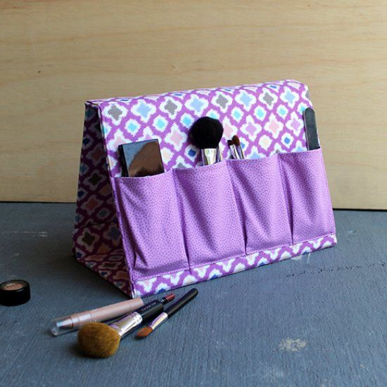 Sew this A-Frame Organizer. Perfect for holding all your ...