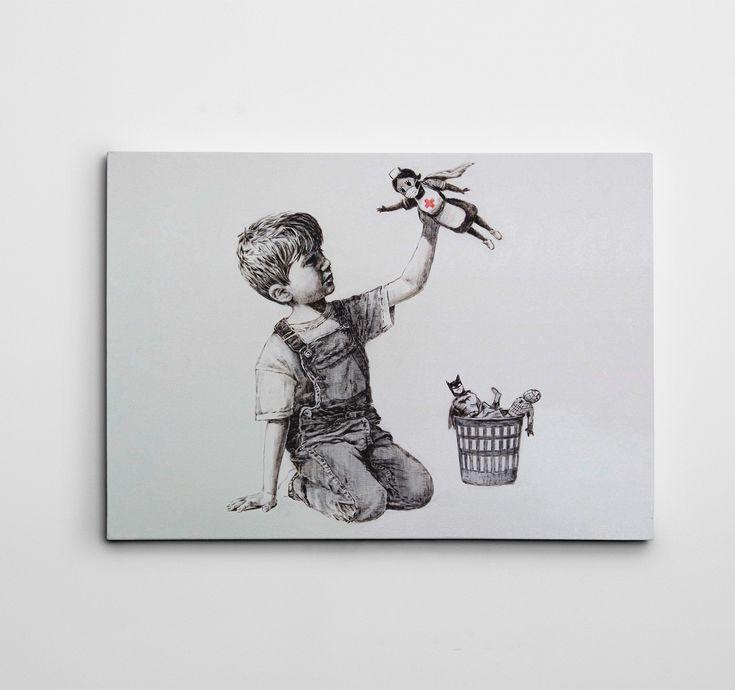 Banksy Wall Art Canvas Banksy Nurse Art Prints Banksy