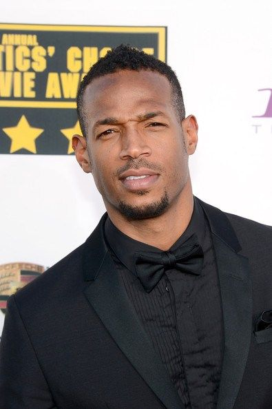 Marlon Wayans black fade haircut