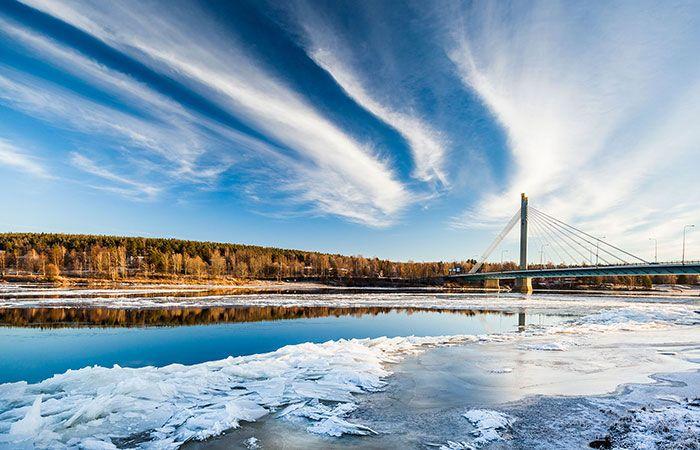 Lumberjack's Candle Bridge -Rovaniemi, Lapland, Finland