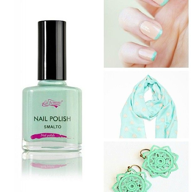 Bellissimo e allegro Outfit primaverile... #smalto #outfit #Primavera #Spring #menta #colore #Smile #me #Happy #fun #BelliDaMatti #Unghie #nail #NailPolish #Moda #FollowMe