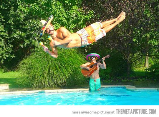 Juan hell of a dive…: Photos, Giggle, Five, Random, Funny Stuff, Funnies, Humor, Leisure Dive