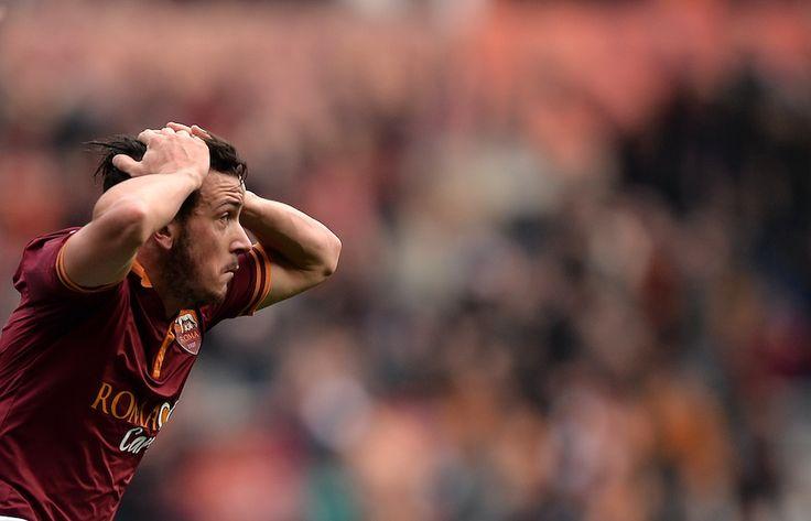 2013/14 Roma-Genoa Alessandro Florenzi (© Filippo Monteforte)
