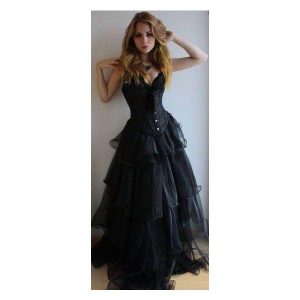 Tartan Plaid Corset Dress Goth Punk Prom Steampunk EMO OBSIDIAN NEW... ❤ liked on Polyvore featuring dresses, gothic corset dresses, steampunk dress, corset prom dresses, gothic lolita dress and steam punk dress