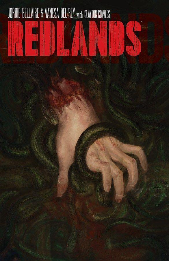 redlands #1 cover