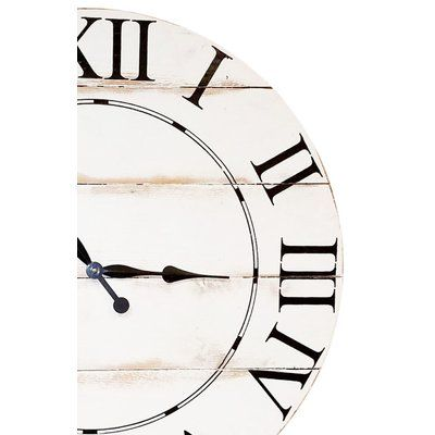 "BrandtWorksLLC Oversized Tradition Wall Clock Size: 36"" H x 36"" W"