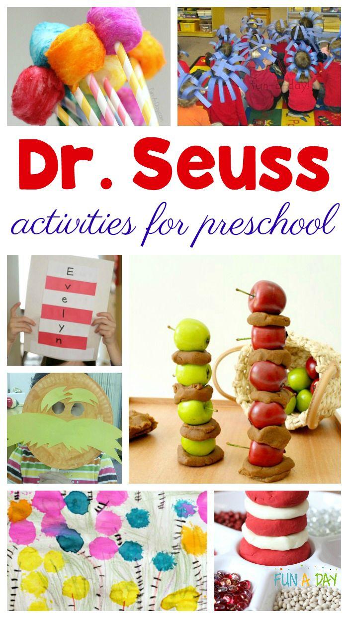 20+ Dr. Seuss Activities for Preschool Kids