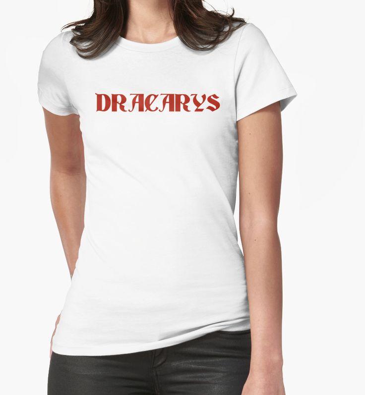 Dracarys - Game of Thrones Daenerys by typogracat | Targaryen, dragons, drogon, GOT