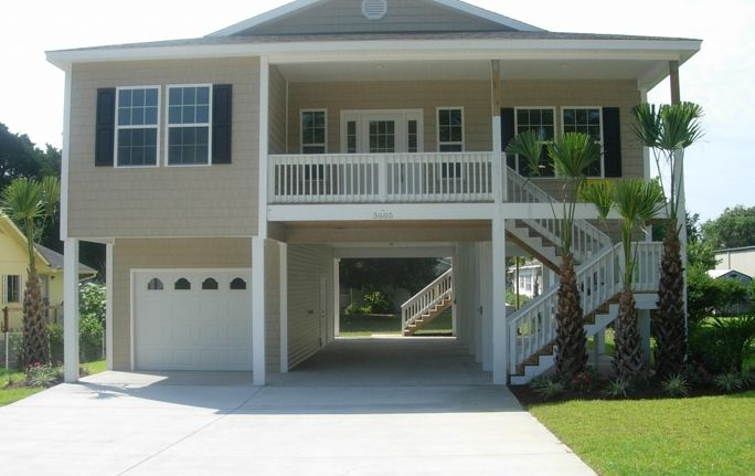 Raised Beach Homes 700 27th Ave South North Myrtle Beach