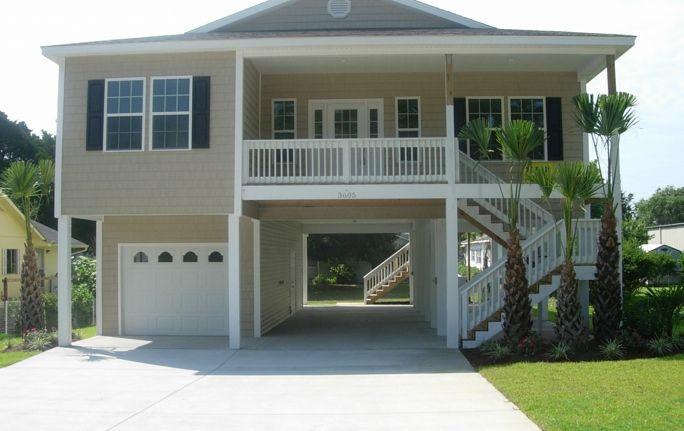 Raised Beach Homes 700 27th Ave South North Myrtle Beach Sc 29582 Future Dreams Pinterest