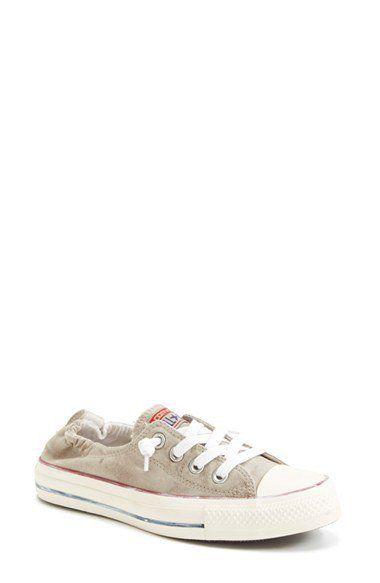 Converse Chuck Taylor® 'Shoreline - papyrus White Wash' Sneaker (Women) | Nordstrom