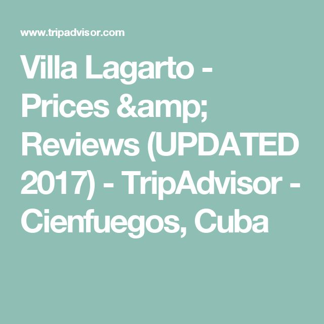 Villa Lagarto - Prices & Reviews (UPDATED 2017) - TripAdvisor - Cienfuegos, Cuba
