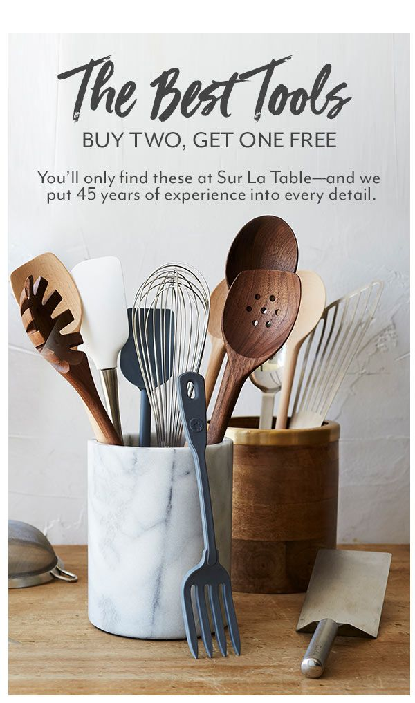 Sur La Table Best Kitchen Tools Including Knives Chef Knife And Block Sets Kitchen Utensils And More Kitchen Essentials Cool Kitchens Cooking Supplies
