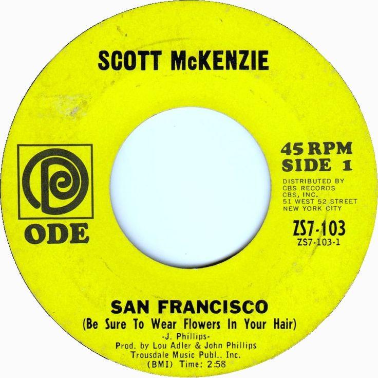 San Francisco (Be Sure To Wear Flowers In Your Hair) - Scott McKenzie (1967)