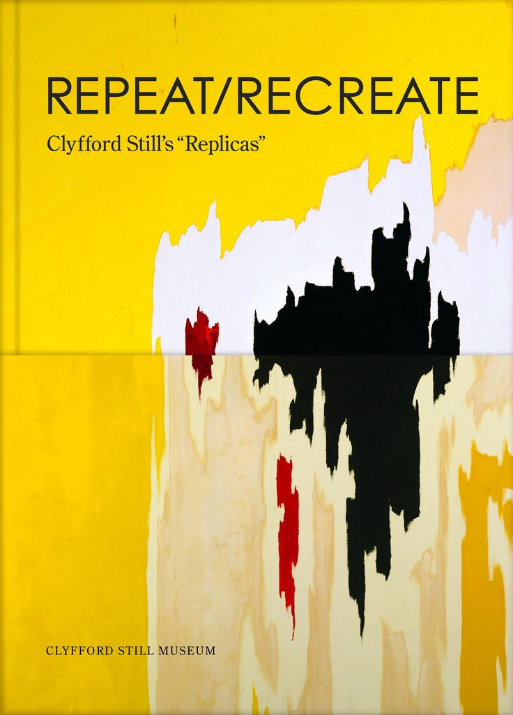 A comprehensive examination of a little-known practice in Clyfford Still's work, Repeat/Recreate provides a greater understanding of Still's stylistic processes and the underpinnings of his darkly mag