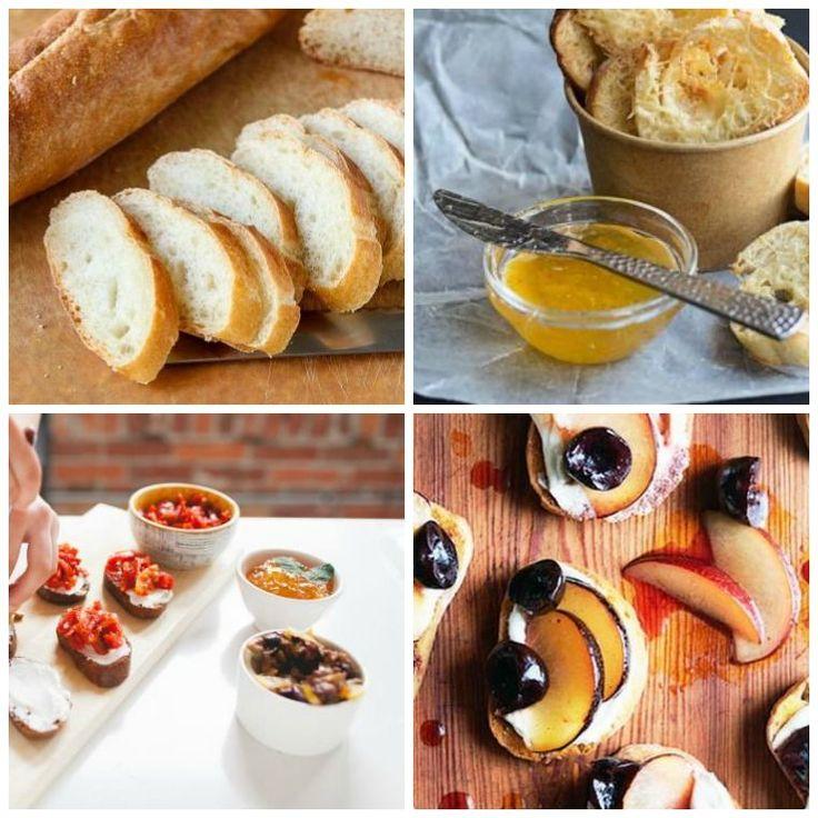 Recette crostini: tartines salées et sucrées pour le petit déj'