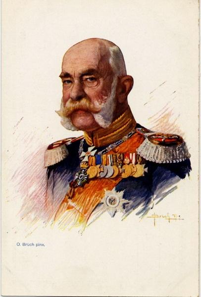 Emperor Franz Joseph of Austria-Hungary