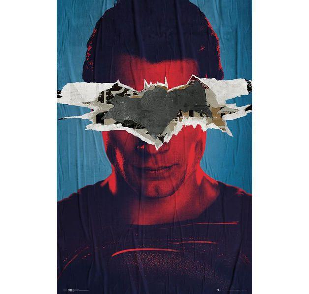 Batman vs Superman Poster Superman Teaser. Hier bei www.closeup.de