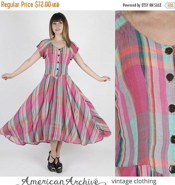 SALE SALE Gypsy Dress Festival Dress Summer by AmericanArchive