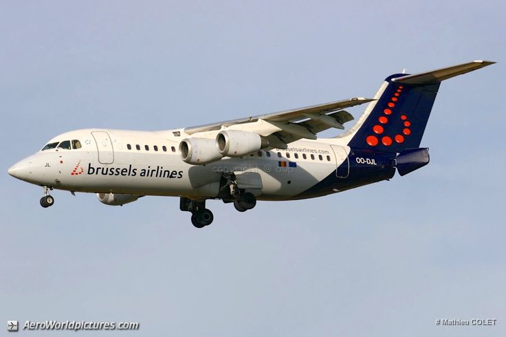 IMG_8033 Brussels Airlines British Aerospace Avro RJ 85 OO-DJL