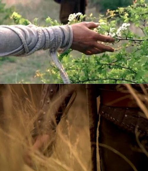 "BBC'S ""Robin Hood,"" one of the first shots from episode one and one of the last shots of the finale. *sniffs.*"